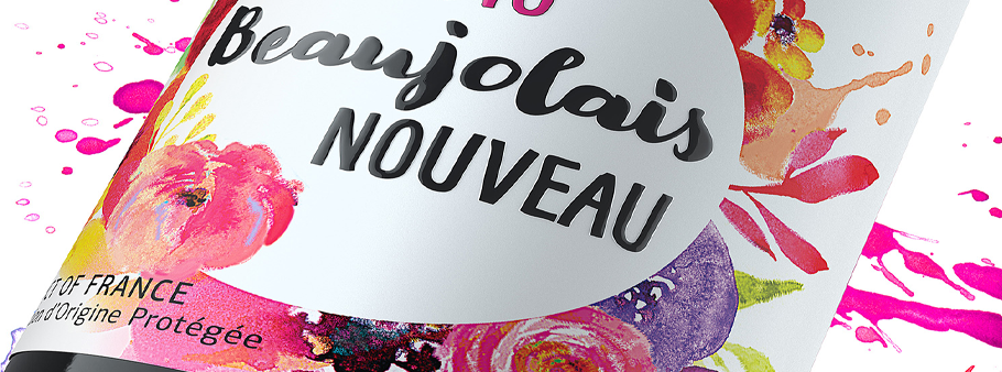 Осторожно! Радостное Божоле Нуво прибыло! «Le Beaujolais Nouveau est arrivé!»